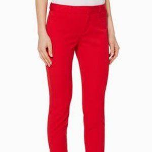 Curvy Sloan Slim Ankle Pant Ultra Red Size 12